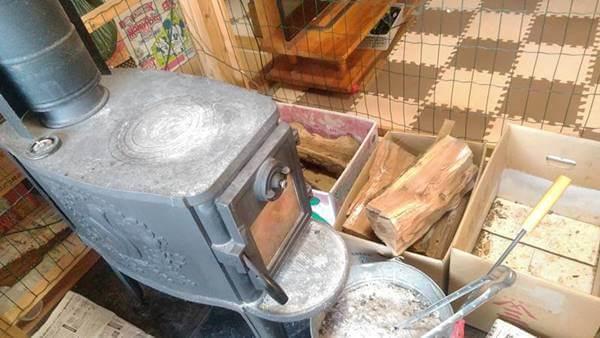 薪ストーブは暖かい!