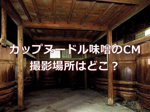 カップヌードル味噌のCMはどこで撮影?キズナアイさんが来た味噌蔵は長野県