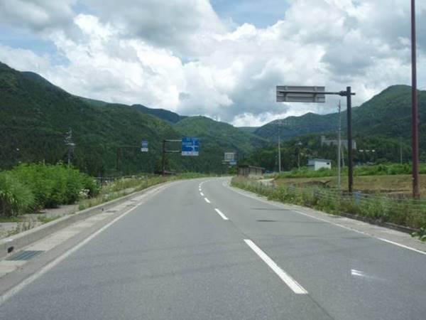 長野県山ノ内町オリンピック道路